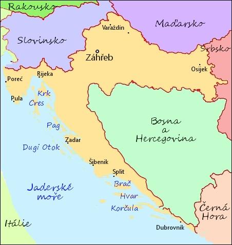 Chorvatsko Zakladni Informace
